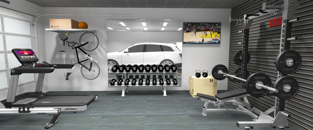How To Build A Home Gym In Your Garage