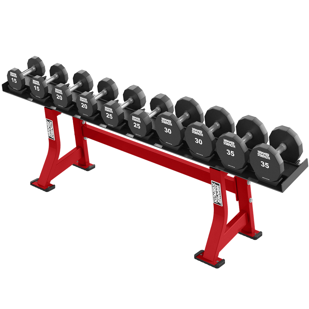 Gym Equipment Storage JLL® RK200-2 Tier Dumbbell Rack Home Gym Weight Stand